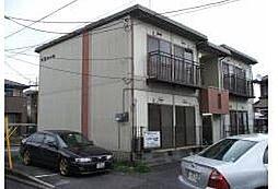 栃木県宇都宮市戸祭4丁目の賃貸アパートの外観