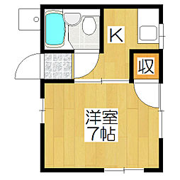 ビバ芦山寺[302号室]の間取り