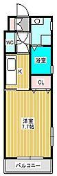 ラフィーヌ昴II[2階]の間取り