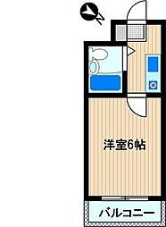 エフイーマンション[2階]の間取り