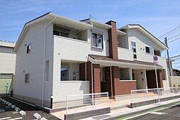 岡山県岡山市南区豊成3丁目の賃貸アパートの外観