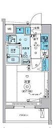 リヴシティ横濱インサイト[5階]の間取り