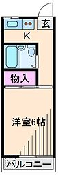 神奈川県横浜市港北区新吉田東1丁目の賃貸マンションの間取り