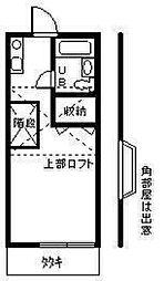 パークハイツオオタ[2階]の間取り