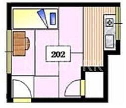 好川荘(女性限定・シェア)[112号室号室]の間取り