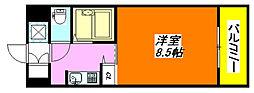 ロータリーマンション・長田東 303号室[3階]の間取り