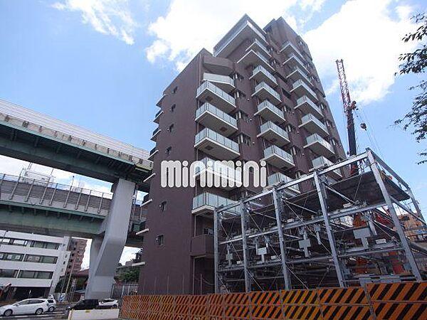 愛知県名古屋市東区橦木町2丁目の賃貸マンションの外観