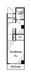 丸三新町ビル[401号室]の間取り