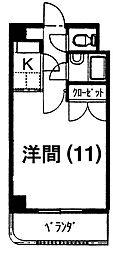 宮崎県宮崎市清武町船引の賃貸マンションの間取り