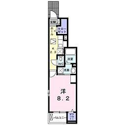 JR京浜東北・根岸線 大宮駅 バス18分 片柳郵便局下車 徒歩3分の賃貸アパート 1階1Kの間取り