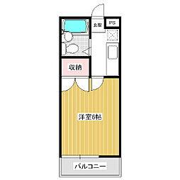 ガーデンハイツヤザキ[2階]の間取り