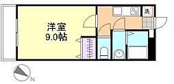 エポックハシマI[101号室]の間取り