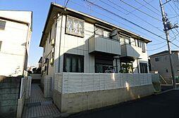 千葉県流山市江戸川台西2の賃貸アパートの外観