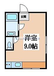 パールハイム深江橋[8階]の間取り