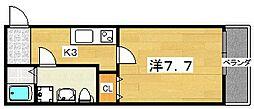 casa御殿山[303号室]の間取り