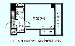 BUILD.K・I(ビルドケイアイ)[303号室]の間取り