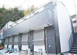 神奈川県横浜市磯子区杉田3の賃貸アパートの外観