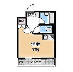 コーポ郷[203号室号室]の間取り
