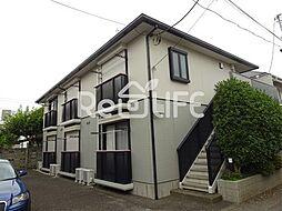 東京都国分寺市東恋ケ窪の賃貸アパートの外観