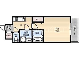 レジュールアッシュ京橋ファーストステージ[11階]の間取り