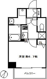 スワンズシティ福島グランデ[4階]の間取り