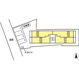 ライム ライト 岐阜[2階]の外観