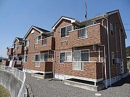 広島県東広島市八本松飯田3丁目の賃貸アパートの外観