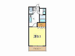 兵庫県加古郡播磨町北野添3丁目の賃貸アパートの間取り