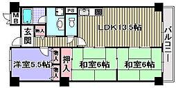 ピュア和泉[103号室]の間取り