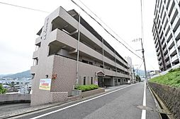 福岡県北九州市八幡西区岡田町の賃貸マンションの外観