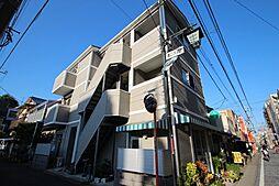 神奈川県川崎市高津区溝口4丁目の賃貸アパートの外観