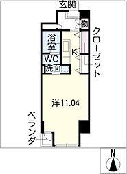 N S ZEAL 泉[13階]の間取り