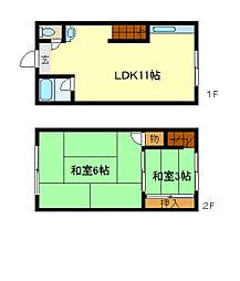兵庫県神戸市垂水区塩屋町8丁目の賃貸マンションの間取り