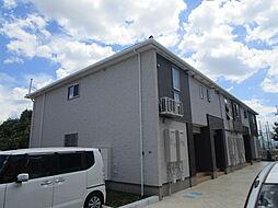 大阪府三島郡島本町桜井台の賃貸アパートの外観