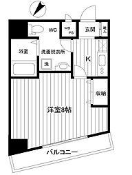 ラベール横濱[3階]の間取り