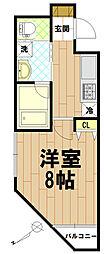 レジス立川高松町[7階]の間取り