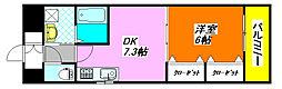 ジャスミン・ガーデン 205号室[2階]の間取り