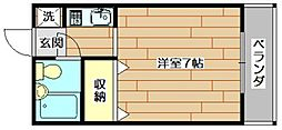 the L・ビアータ[5階]の間取り