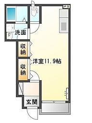 KEYAKI[1階]の間取り