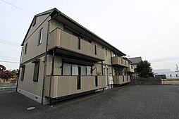 群馬県伊勢崎市連取元町の賃貸アパートの外観