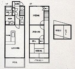 [タウンハウス] 兵庫県神戸市西区大津和1丁目 の賃貸【/】の間取り