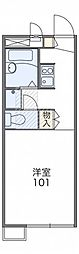 レオパレスリバーサイドコート[2階]の間取り