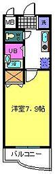 ルーチェI番館[202号室]の間取り