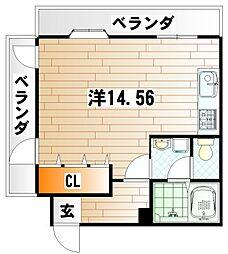 メゾン本田[3階]の間取り