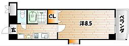 プチ・シャンティ[4階]の間取り