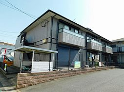 福岡県北九州市小倉北区中井口の賃貸アパートの外観