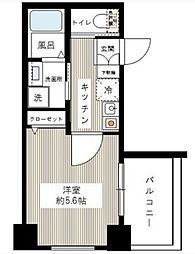ルクシェール武蔵新田 bt[502kk号室]の間取り