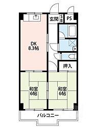 エポックYK[3階]の間取り