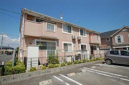 岡山県瀬戸内市長船町土師の賃貸アパートの外観