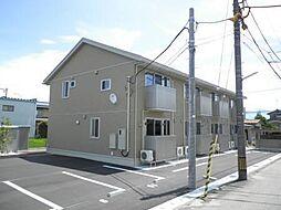 富山県富山市一本木の賃貸アパートの外観